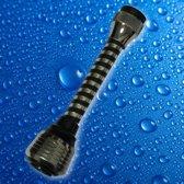 Luxe Kraanslang - M24/M22 | Waterbesparend | Straalregelaar | Chroom | Keukenkraan Verlengstuk | Easy Fit | Buigbaar |  15CM  Lang