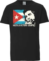 Logoshirt T-Shirt Che Guevara - Cuban Flag