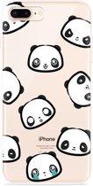 iPhone 8 Plus Hoesje Panda Emotions