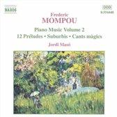 Mompou: Piano Music Vol.2