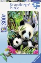 Ravensburger puzzel Lieve panda - Legpuzzel - 300 stukjes
