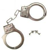 Speelgoed politie verkleed handboeien - politie accessoires