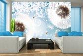 Blue | White Photomural, wallcovering