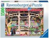 Ravensburger puzzel IJssalon - Legpuzzel - 1500 stukjes