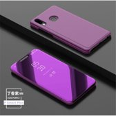 Clear View Stand Cover voor de Huawei P Smart Plus_Violet