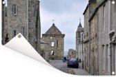 Het plaatsje St Andrews bij Fife in Schotland Tuinposter 60x40 cm - klein - Tuindoek / Buitencanvas / Schilderijen voor buiten (tuin decoratie)