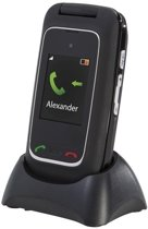 Fysic - FM-9770 - Senioren mobiele klaptelefoon - Zwart