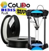 3d printer CoLiDo D1315 PLUS PLA (model 2019)! 3-assen! incl. 1kg wit en zwart!