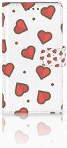 Sony Xperia L1 Boekhoesje Design Hearts