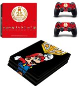 Super Mario Skin Sticker - Playstation 4 PRO