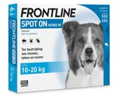 Frontline Spot-On M Anti vlooienmiddel - Hond - 4 pipetten