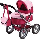 Bayer Poppenwagen Trendy Rood Roze