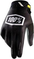 100% Ridefit fietshandschoenen zwart Maat XXL