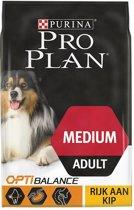 Pro Plan Medium Adult - Kip met OPTIHEALTH - hondenvoer - 14 kg