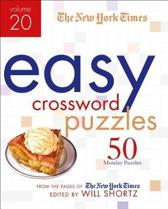 The New York Times Easy Crossword Puzzles Volume 20