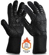 Superiox Hitte Bestendige BBQ Handschoenen - Ovenhandschoenen - 1 paar silicone anti-slip oven handschoenen