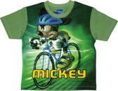 Disney Mickey Mouse Jongens T-shirt Wielrennen 104
