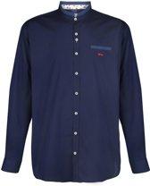 Grote maat : Dario Beltran Overhemd Ostra Donker blau maat 3xl