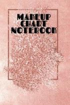Makeup Chart Notebook