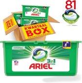 Ariel 3in1 Pods Original wasmiddel capsules - 81 stuks
