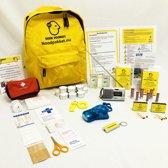 Noodpakket Rampenrugzak Essentials   EHBO-set   Consumentengids 09/2017   Denk Vooruit Noodpakket.Nu Be Safe Stay Safe Essentials uitvoering   Noodrugzak   Zelf aanvullen