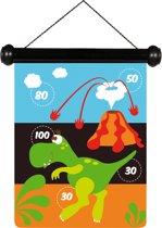 Scratch Spel Darts small Dinosaurus magnetisch - 24x30 cm - 2-zijdig bedrukt