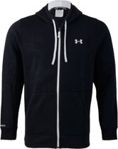 Under Armour RIVAL Sweatvesten black/white/white