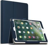 Apple iPad Pro 10.5 (2017) hoesje - Leather Protective Case - donker blauw