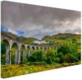 Schots landschap  Canvas 120x80 cm - Foto print op Canvas schilderij (Wanddecoratie)