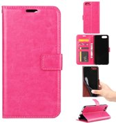 Honor 10 portemonnee hoesje - roze