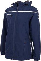 Varsity Breathable Jacket Ladies Sportjas Dames - Blauw Donker