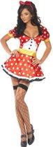 Minnie mouse jurkje maat 40/42 (met haarband)