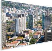 Praia de Belas van Porto Alegre in Brazilië Plexiglas 180x120 cm - Foto print op Glas (Plexiglas wanddecoratie) XXL / Groot formaat!