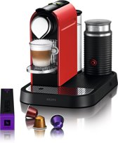 Nespresso Krups CitiZ & Milk XN7305 - Fire-engine red
