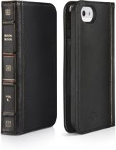 Twelve South iPhone 5 / 5S - Zwart vintage booktype hoes