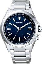 Citizen CB1070-56L Radio Controlled - Horloge - Titanium - Zilverkleurig - Ø 42 mm