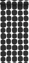 ESTAhome behang grafisch motief zwart wit - 139090 - 0.53 x 10.05 m