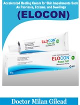 ACCELERATED HEALING CREAM FOR SKIN IMPAIRMENTS SUCH AS PSORIASIS, ECZEMA, AND SWELLINGS (ELOCON)