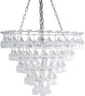 Leitmotiv Vino XL Glass - Hanglamp - Chroom