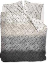 At Home Texture - Dekbedovertrek - Eenpersoons - 140x200/220 cm - Grijs
