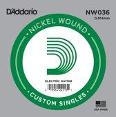 NW036 nikkel omwonden enkele snaar