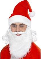 Kerstmankit voor volwassenen aanvulling op kostuum - Verkleedattribuut