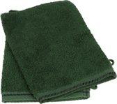 ARTG Towelzz® Washandje 100% Katoen - Dark Green - (Set 10 stuks)