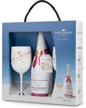 Champagne Moet Chandon Ice Imperial Rosé in geschenkendoos met 2 glazen