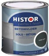 Histor Perfect Finish betonvloer zijdeglans dark grey 750 ml