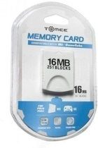 Nieuw Gamecube / Wii Memory Card 16 MB (3rd Party)