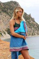 Mycha Ibiza – Strandlaken – strandhanddoek – kikoy – Figueretes – 100% katoen