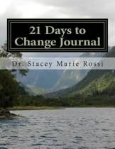 21 Days to Change Journal