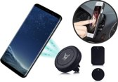 Universele Autohouder Zwart - 360 Graden Draaibaar / Rotatable - Car Mount Holder - Ventilatie Rooster (Apple iPhone / Samsung / Huawei / LG / HTC / Sony Experia / Nokia / HTC / Asus) - Magneet / Magnetisch
