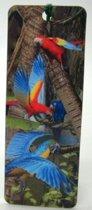 Boekenlegger papegaai